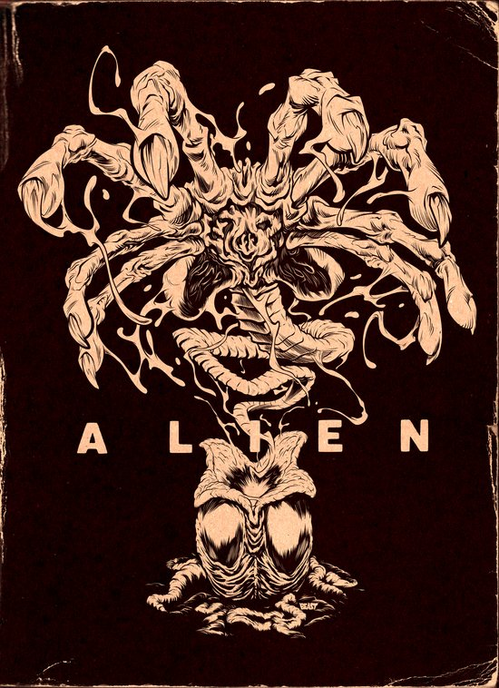 ALIEN: FACEHUGGER Art Print
