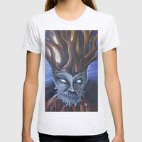 Eyeless Womens Fitted Tee Ash Grey SMALL
