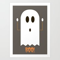You Look Like You've Seen  A Ghost Art Print