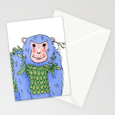 Peachtree The Chimp in Blue Stationery Cards