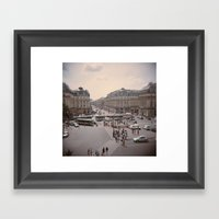 Opéra Framed Art Print