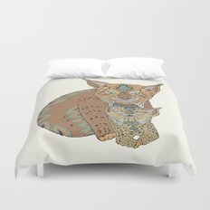 Wild Cats Love Duvet Cover