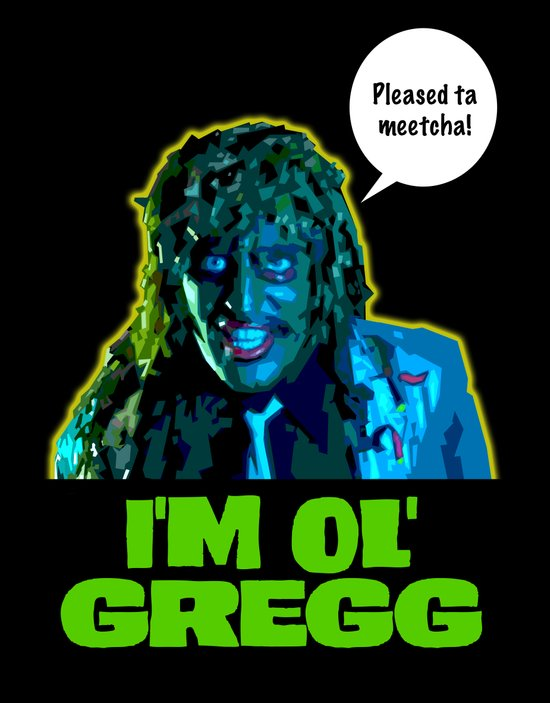 Old Gregg Art Print