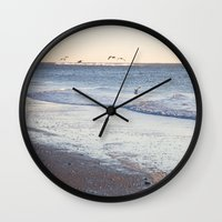 Birdy Beach  Wall Clock