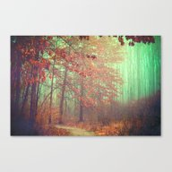 Canvas Print featuring Autumn Forest by Olivia Joy StClaire