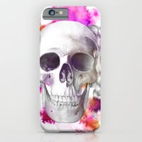 iPhone & iPod Case featuring Braided Skull by Camis Gray