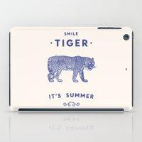 Smile Tiger, it's Summer iPad Case