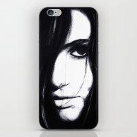 Look me in the eye. iPhone & iPod Skin