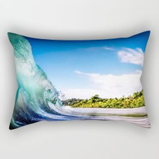 Tropical Wave Rectangular Pillow