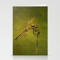 4-Spotted Skimmer Dragon… Stationery Cards