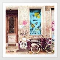 STREETART BERLIN by Jay Hops Art Print