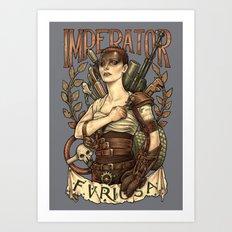 AVE FURIOSA Art Print