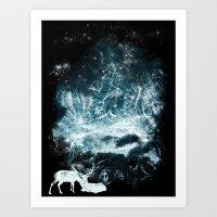 Aurora Animalia Art Print