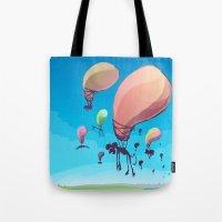 Balloon Animals Tote Bag