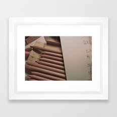 Craft Framed Art Print