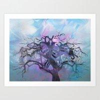 Enchanted Tree Art Print