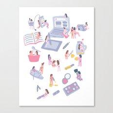 How To Be A Guru Canvas Print