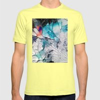 Transcends Mens Fitted Tee Lemon SMALL