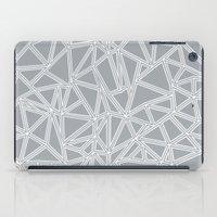 Abstract New Grey iPad Case