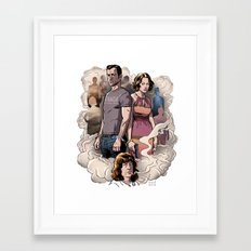 Leftovers Framed Art Print
