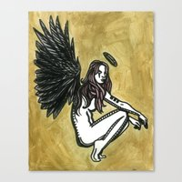 The Initial Appearance of Nephilim Canvas Print