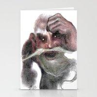 Red Ogre Stationery Cards