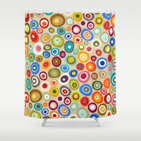 freckle spot cream Shower Curtain
