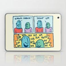 KNOCK KNOCK Laptop & iPad Skin