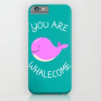 Whale, thank you! -Pink Version iPhone 6 Slim Case