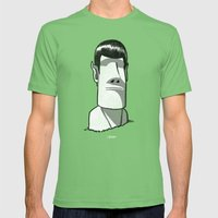 Spock / Rock Mens Fitted Tee Grass SMALL