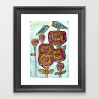 Fathers Day Framed Art Print