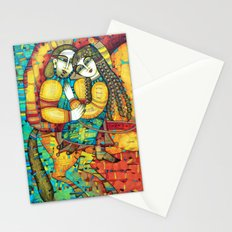 SONATE FOR TWO AND UNICORN Stationery Cards