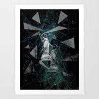 Celestial Mystery Art Print
