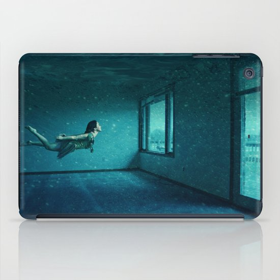 swimming girl iPad Case
