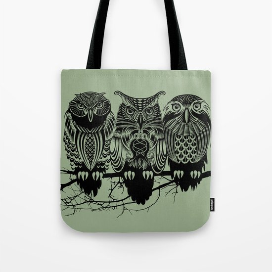 Owls of the Nile Tote Bag