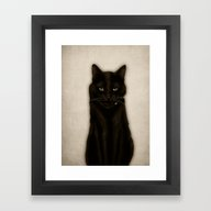 Framed Art Print featuring Salem by Isaiah K. Stephens