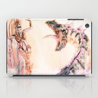 Leviathan Against Shiva iPad Case