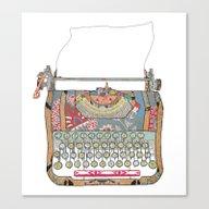 I DON'T KNOW WHAT TO WRI… Canvas Print