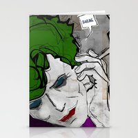 David Bowie as The Joker Stationery Cards