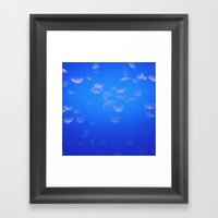 jellyfish iii Framed Art Print