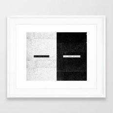 SAFE & WILD Framed Art Print