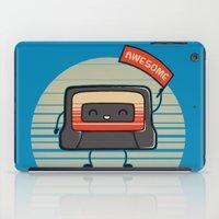 Cute Mix Tape iPad Case