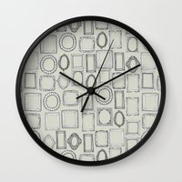 Picture Frames Bone Wall Clock