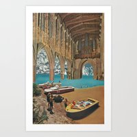 place of worship (with david delruelle) Art Print