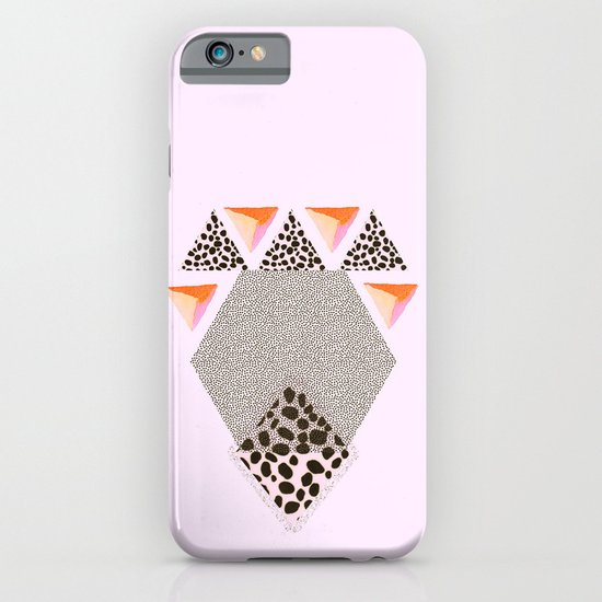 LEOPARD DIAMOND iPhone & iPod Case