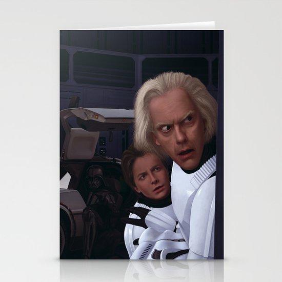 I Find Your Lack Of Jiggawatts Disturbing Stationery Card