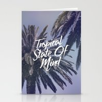 Tropical State Of Mind Stationery Cards