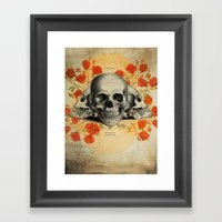 I Became Insane... Edgar… Framed Art Print