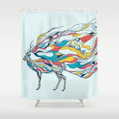 Hold Me Down Shower Curtain