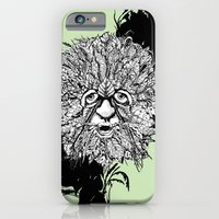 iPhone & iPod Case featuring the green man by Chris Brake